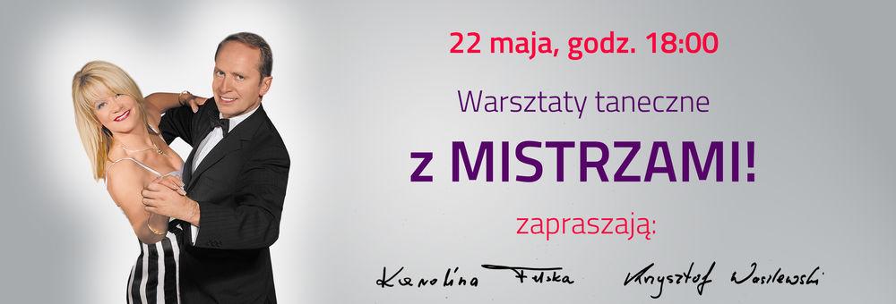 Majowe Warsztaty taneczne z Mistrzami! /slider/