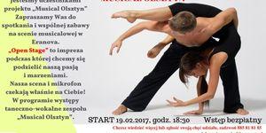 GALERIA+ FILMIK Open Stage - Musical Olsztyn
