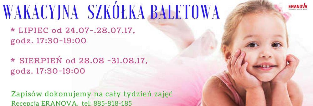 Wakacyjna Szkółka Baletowa